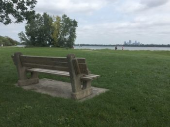 Habits and a Bench by the Lake